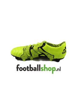 Adidas X15.1 FG-AG LEA Geel/Zwart binnenkant schoen