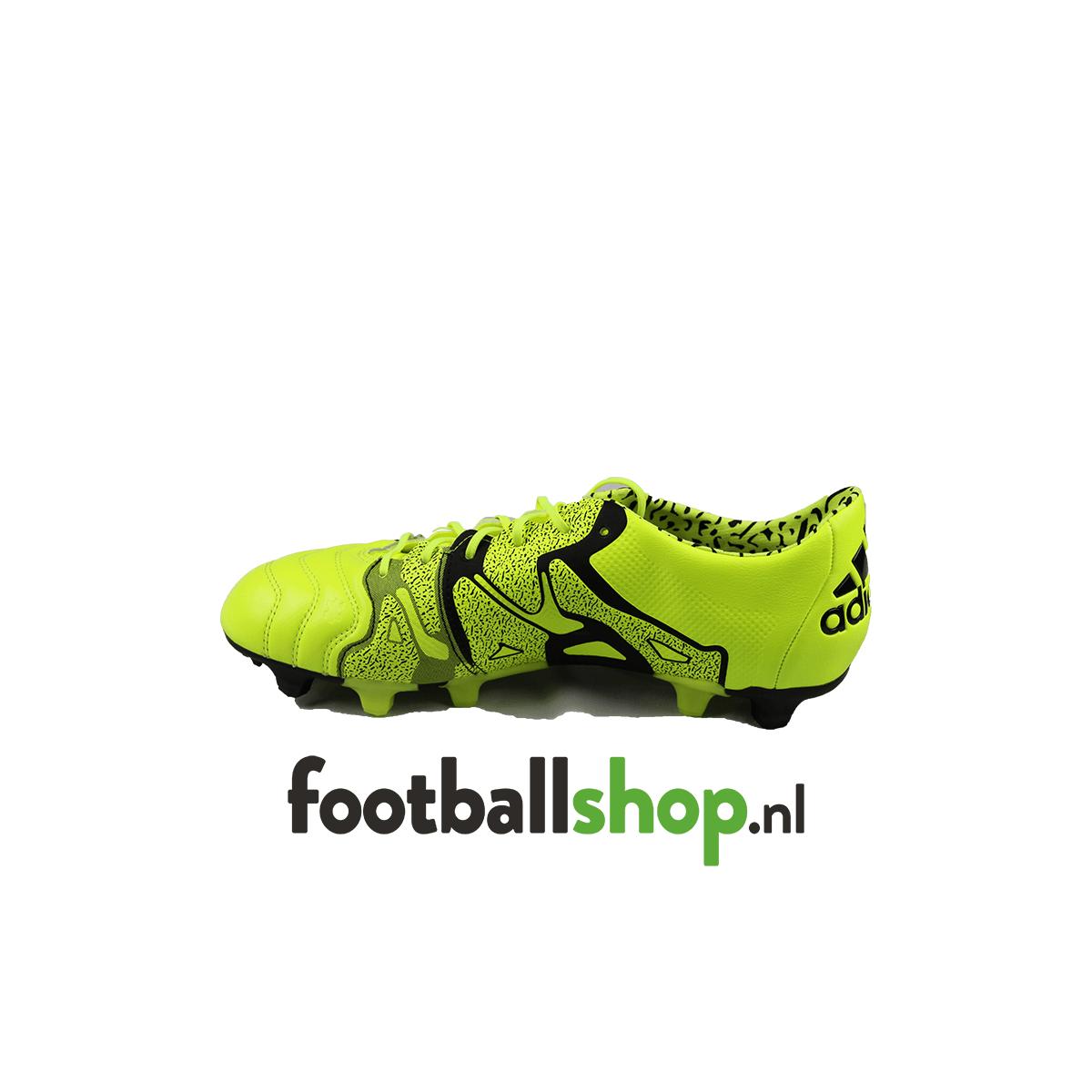 best website c8e27 c5440 Adidas X15.1 FG-AG LEA Geel/Zwart