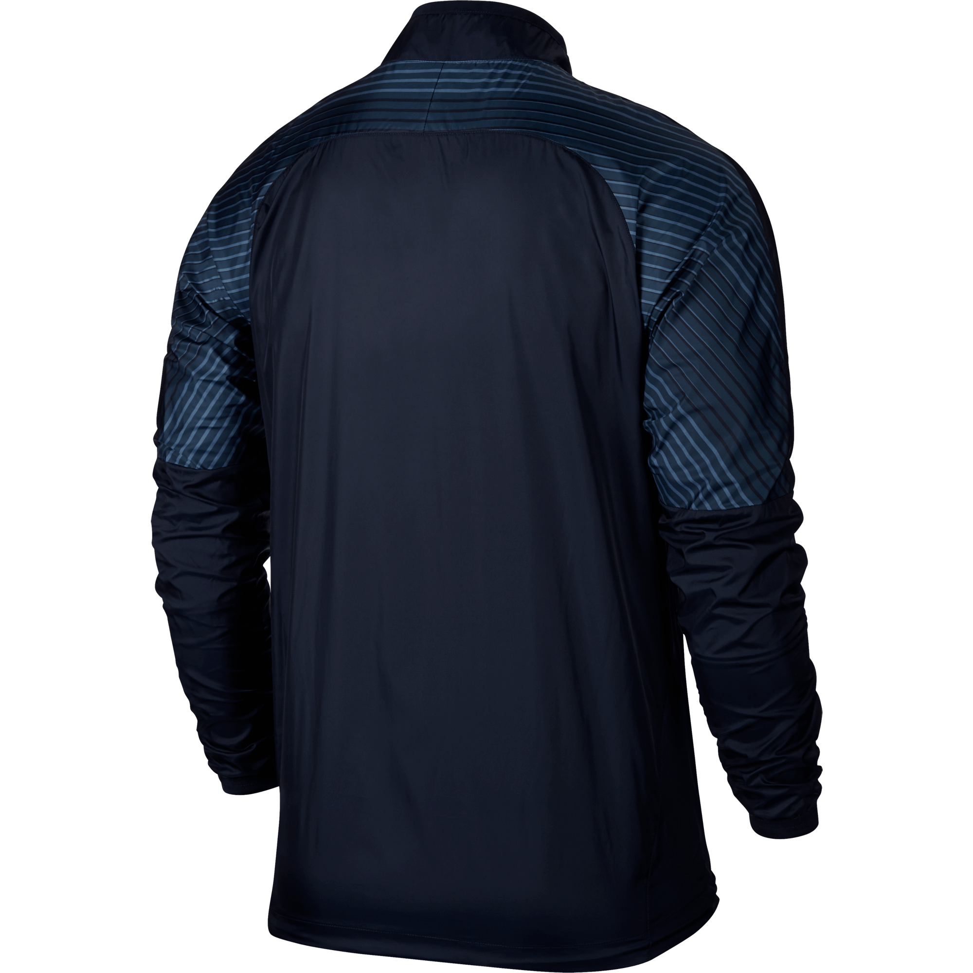 Nike Revolution Graphic Woven Jacket – Donkerblauw achterkant jacket