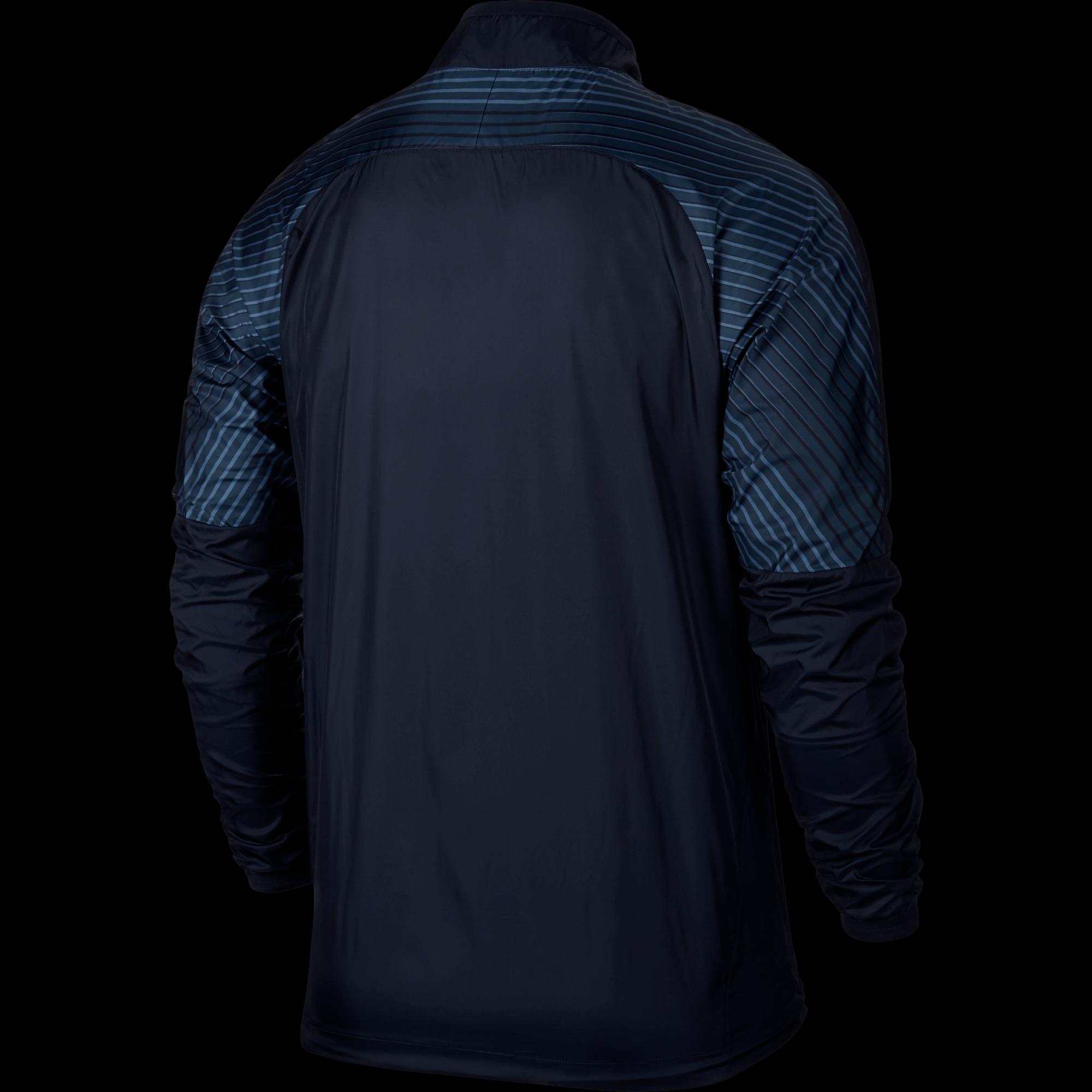 Nike Revolution Graphic Woven Jacket – Donkerblauw achterkant jacket