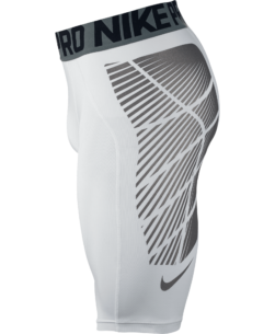Nike Pro Hyperstrong Footballl Slider Shorts White 727059 zijkant short