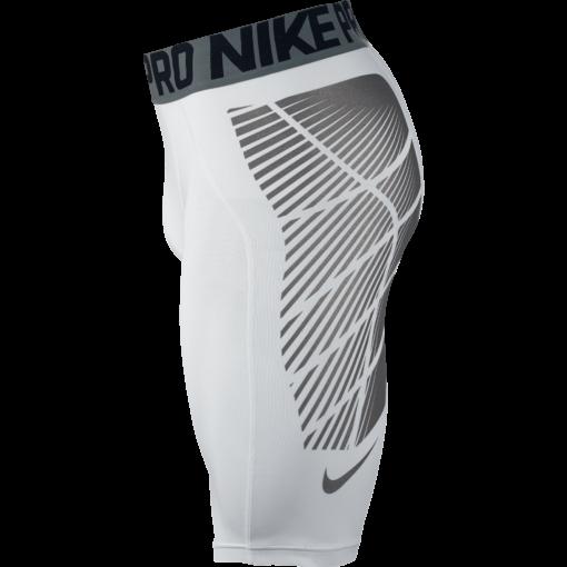 Nike Pro Hyperstrong Footballl Slider Shorts White 727059 zijkant short