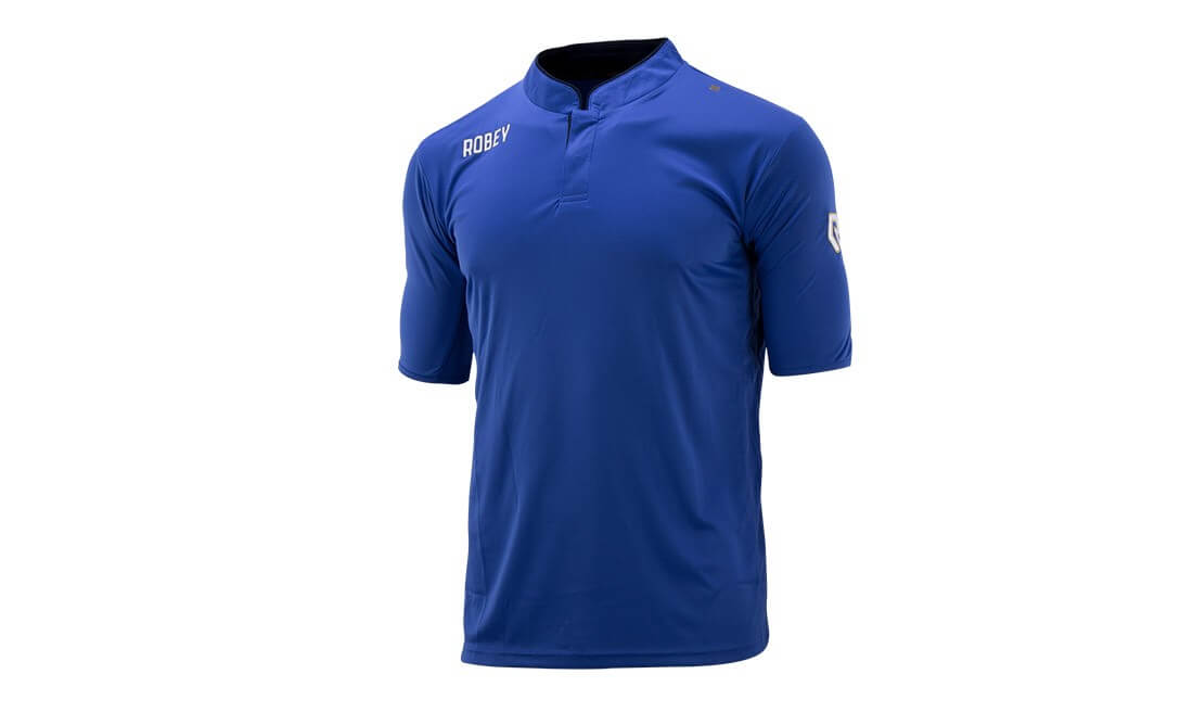 Robey Voetbalshirt IJVV De Zwervers Blauw