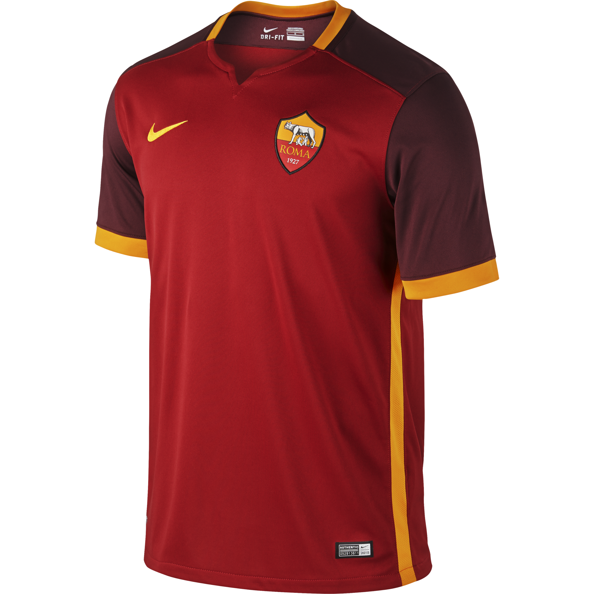 AS Roma Thuisshirt 2015-2016 Authentic
