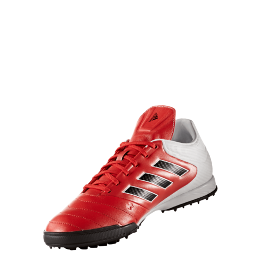 adidas Copa 17.3 Turf Red Core Black Future White BB3557 schuin aanzicht binnenkant