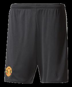 adidas Manchester United Thuisbroekje 2017-2018 Black White