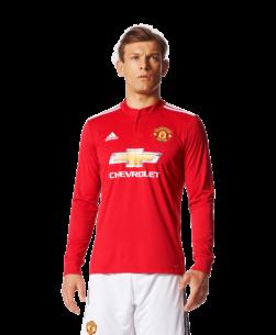adidas Manchester United Thuisshirt Lange Mouwen 2017-2018