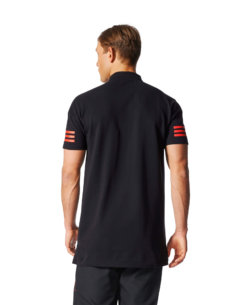 adidas Manchester United Champions League Polo 2017-2018 achterkant