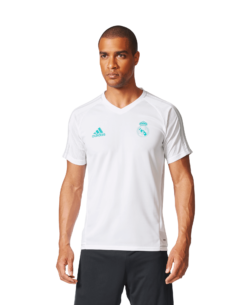 adidas Real Madrid Trainingsshirt 2017-2018 White