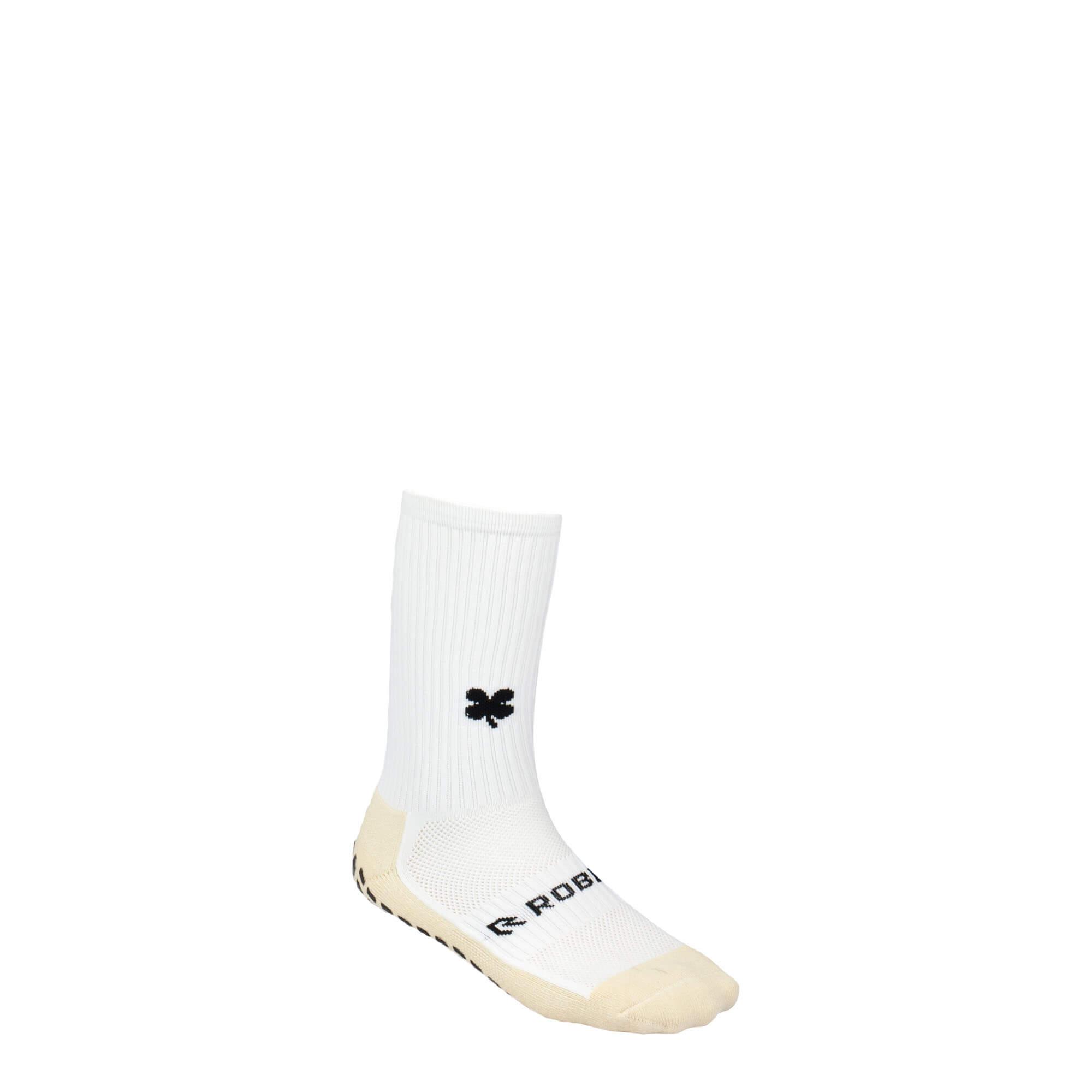 Robey Grip Socks White