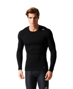 adidas Techfit Long Sleeve Thermoshirt Black