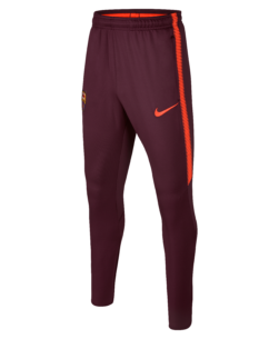 Nike FC Barcelona Dry Squad Kids Trainingsbroek 2017-2018