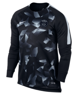 Nike Paris Saint Germain Dry Squad Trainingsshirt 2017-2018