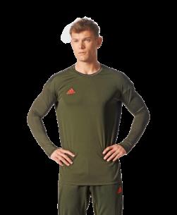 adidas Tango Football Shirt Lange Mouwen Night Cargo