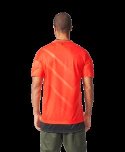 adidas Tango Football Shirt Semi Solar Orange Black achterkant