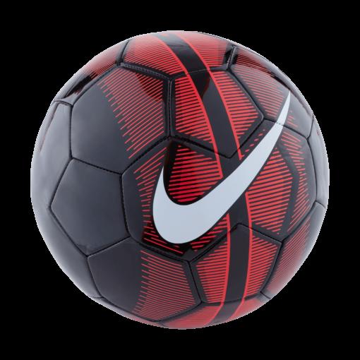 De Nike Mercurial voetbal biedt een duurzame performance en uitstekende zichtbaarheid op het veld. Pluspunten Machinegenaaide buitenkant voor een goed balgevoel en duurzaamheid Versterkte, rubberen blaas voor beter behoud van vorm Opvallende streep in het midden zodat je de bal minder snel uit het oog verliest