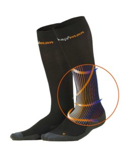 Knapman Ultra Strong Compressionsocks Zwart