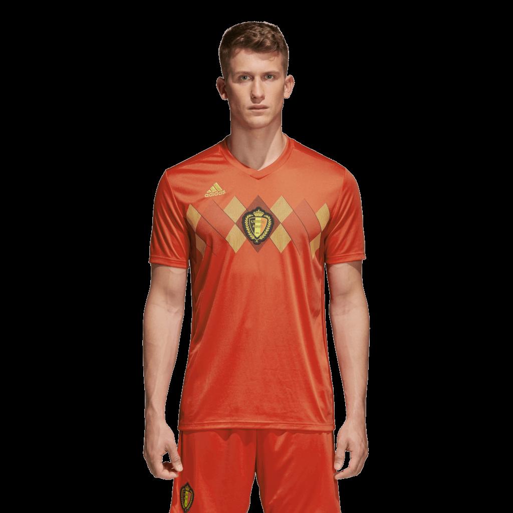 adidas België Thuisshirt WK 2018
