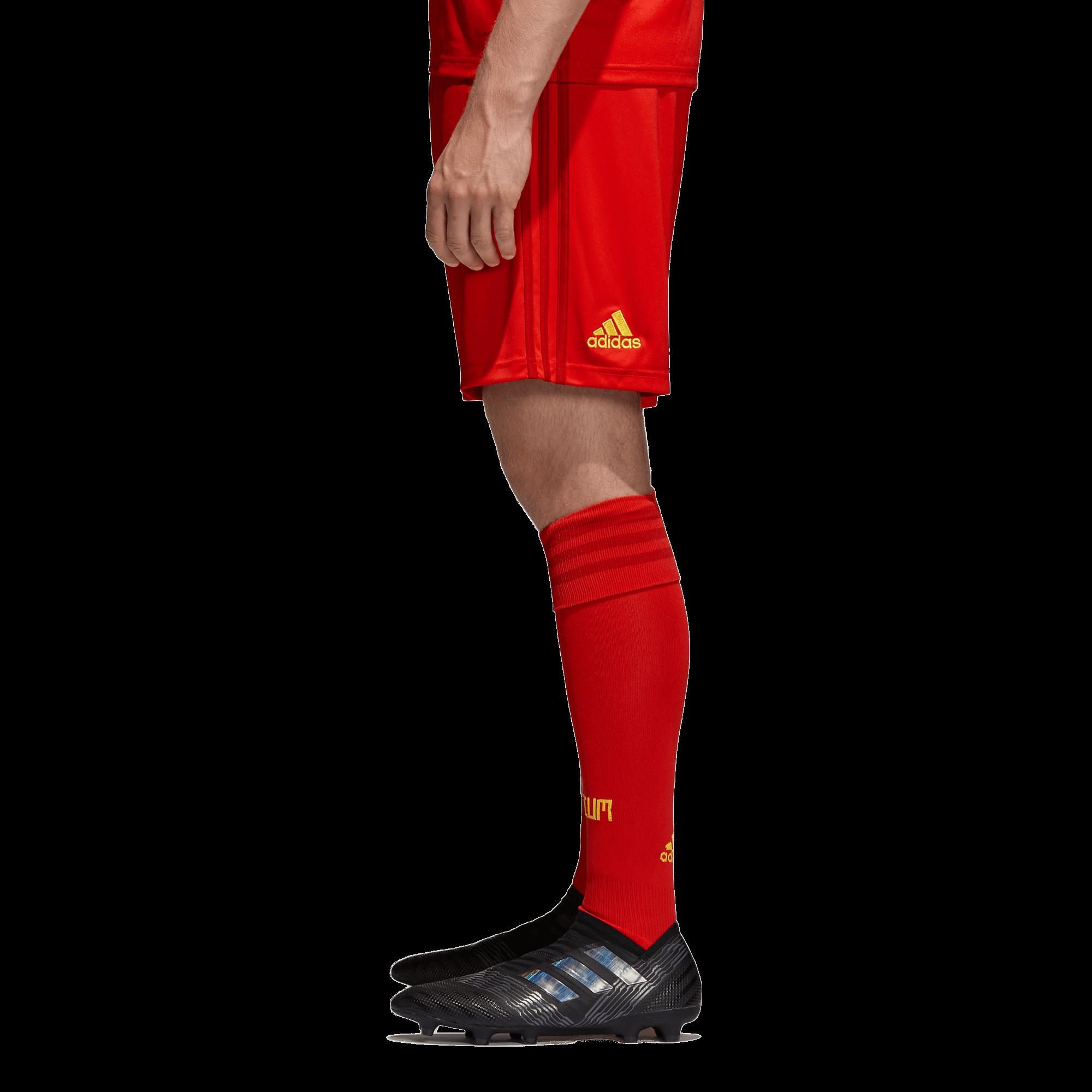 adidas België Thuisbroekje WK2018 zijkant