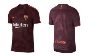 FC Barcelona derde tenue 2017 – 2018