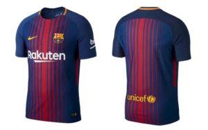 FC Barcelona thuisshirt 2017 en 2018