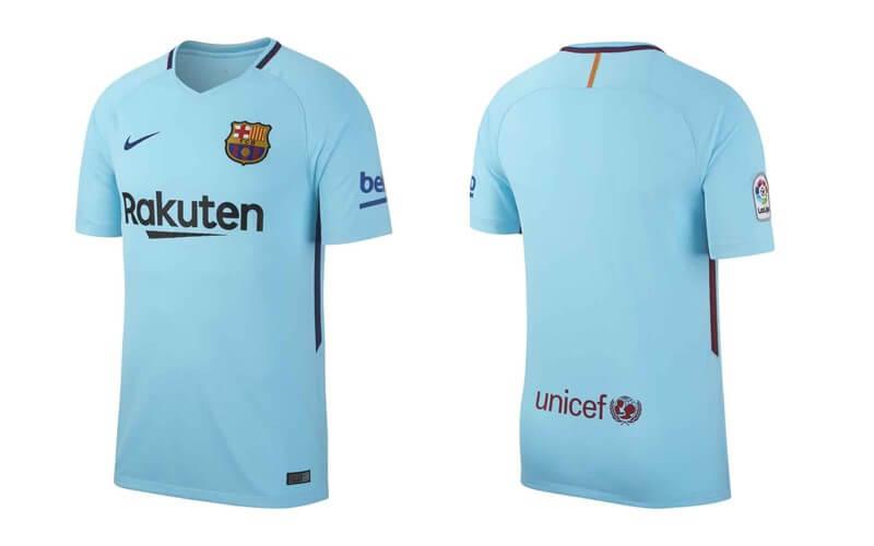 FC Barcelona uitshirt 2017 – 2018
