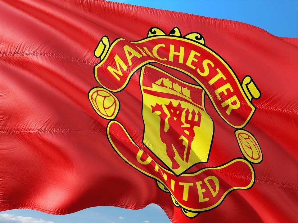 Manchester United fanshop met voetbalkleding