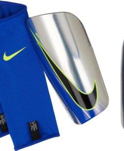 Nike Neymar Mercurial Lite Scheenbeschermers Chrome Volt Racer Blue