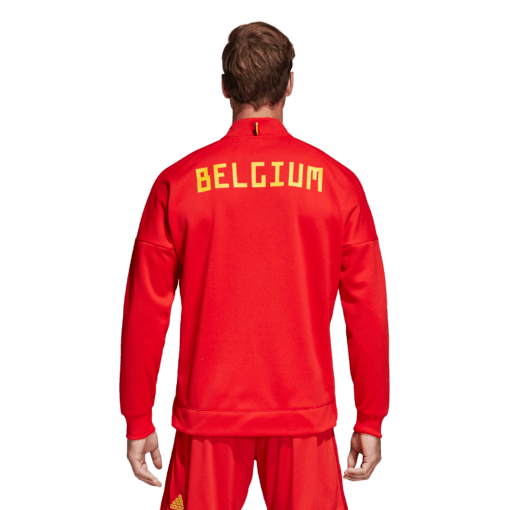 adidas Belgie Presentatiejack WK2018 Achterkant