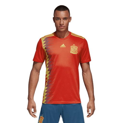 adidas Spanje Thuisshirt WK2018 Voorkant
