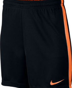 Nike Dry-Fit Academy Trainingsbroekje Black/Cone Kids voorkant