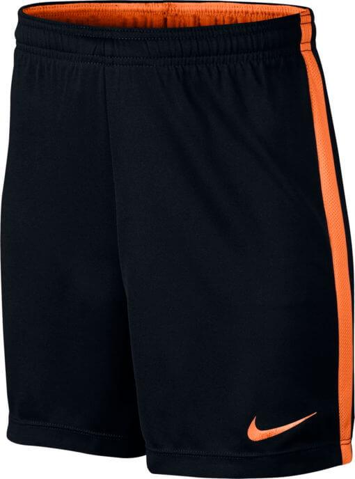 Nike Dry-Fit Academy Trainingsbroekje Black/Cone Kids voorkant
