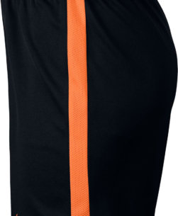 Nike Dry-Fit Academy Trainingsbroekje Black/Cone Kids zijkant