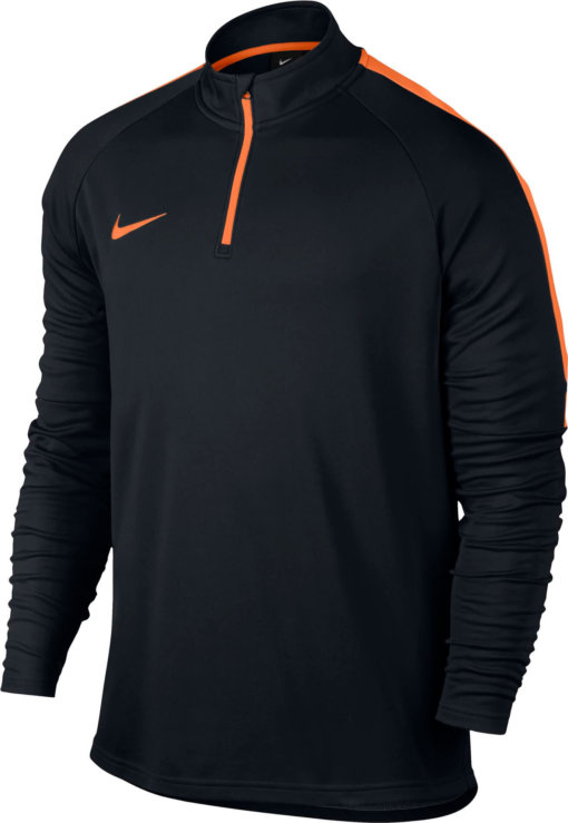 Nike Dry Academy Drill Trainingstrui Black Cone voorkant