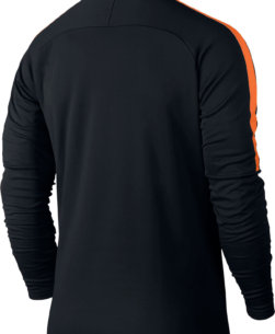 Nike Dry Academy Drill Trainingstrui Black Cone achterkant