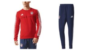 Trainingspak van voetbalclub Bayern München