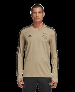 adidas Ajax Trainingstrui 2018-2019 Carbon Raw Gold
