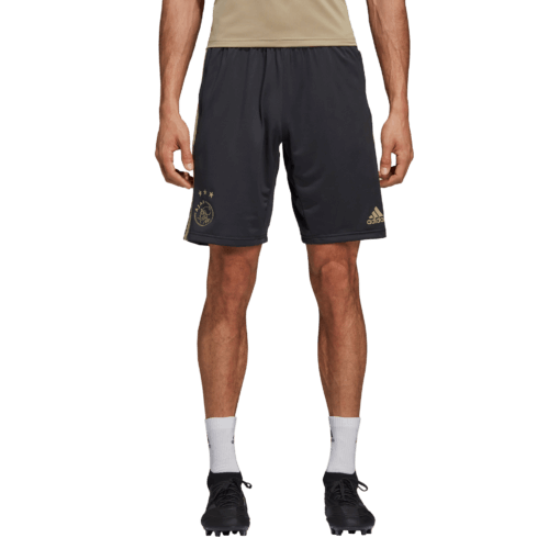 adidas Ajax Trainingsbroekje 2018-2019 Black Carbon Raw Gold