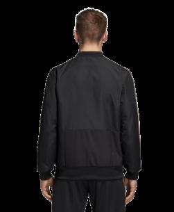 adidas Ajax Presentatie Trainingsjack 2018-2019 Black Carbon Raw Gold achterkant
