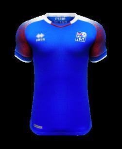 Errea IJsland Thuisshirt WK2018
