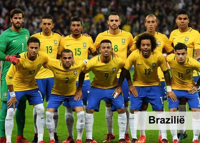 elftal Brazilie