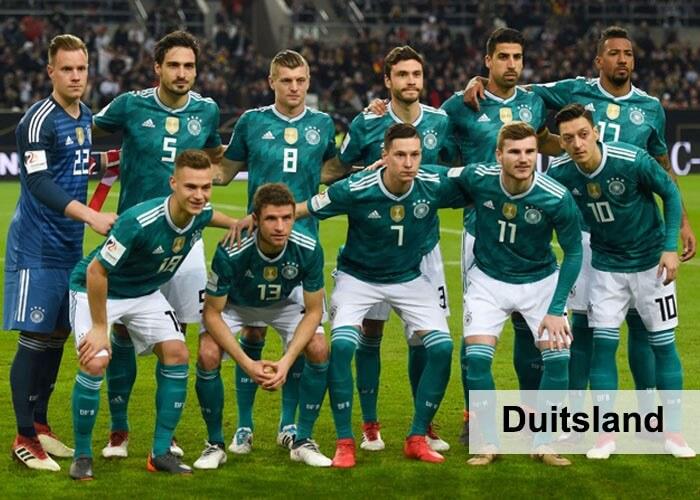 elftal Duitsland