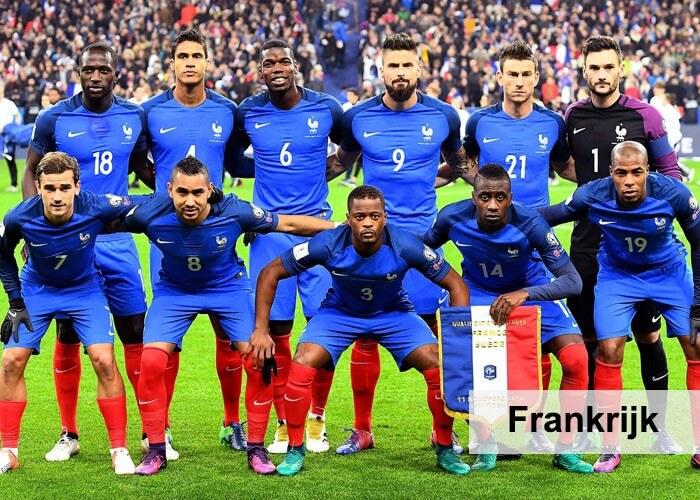 elftal Frankrijk