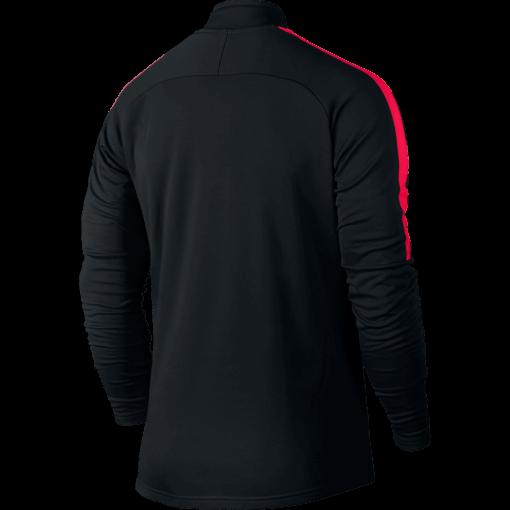 Nike Dry Academy Drill Trainingstrui Black Siren Red achterkant