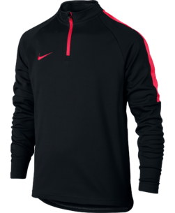 Nike Dry Academy Drill Trainingstrui Kids Black Siren Red