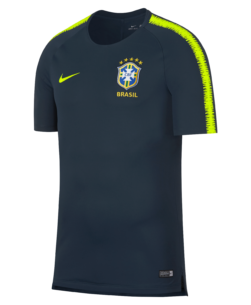 Nike Brazilië Breathe Squad Trainingsshirt
