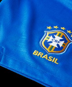 Nike Brazilie thuisbroekje WK 2018 detail