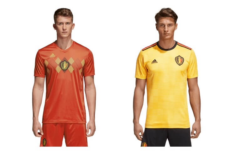 Replica voetbalshirt Belgie