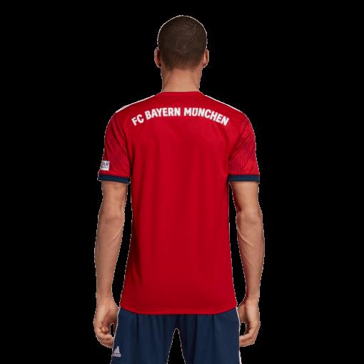 adidas FC Bayern München Thuisshirt 2018-2019 achterkant