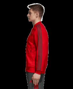 adidas Bayern München Presentatie Trainingsjack 2018-2019 zijkant